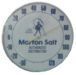 Morton Salt Thermometer