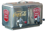 Dual Fountain Coca-Cola Soda Dispenser