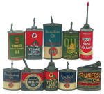 Oil Can Selection