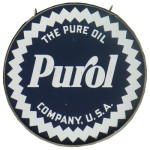 Purol Porcelain Sign