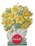 Coca-Cola Daffodils Lithograph