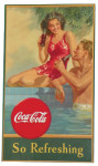 Coca-Cola Swimming Pool Poster