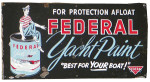 Federal Yacht Paint Sign
