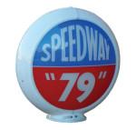 Speedway 79 Gas Globe