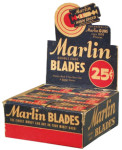 Marlin Razor Blades Display