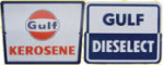 Gulf Kerosene and Dieselect Signs