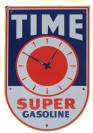 Time Super Gasoline Sign