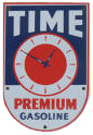 Time Premium Gasoline Sign