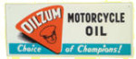 Oilzum Motorcycle Oil Sign