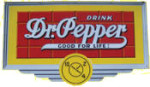 Dr. Pepper Drink Sign