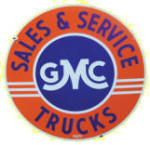 GMC Sales and Service Sign