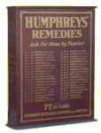 Humphreys' Remedies Display
