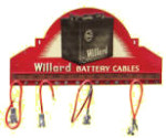 Wllard Battery Cables Display