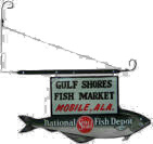National Fish Depot Trade Sign