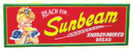 Reach For Sunbeam Bread Sign