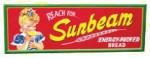 Reach For Sunbeam Bread Sign