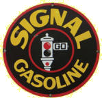Signal Gasoline Sign