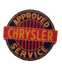 Chrysler Service Sign