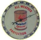 MobilOil All Weather Protection Thermometer