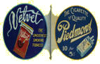 Piedmont and Velvet Cigarette Sign