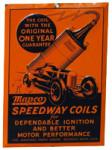 Manco Speedway Coils Sign