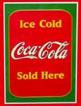 Ice Cold Coca-Cola Sign