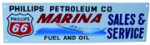 Phillips 66 Marina Sales & Service Sign
