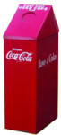 Coca-Cola Used Cup Trash Can