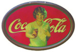 Coca-Cola Pretty Girl Sign