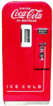 Early Coca-Cola Vending Machine