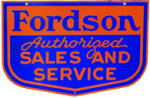 Fordson Auto Sales and Service Sign