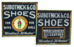 Subotnick & Co Shoes Sign