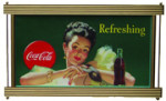 Coca-Cola Portrait Sign