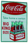 Coca-Cola King Size Advertisement