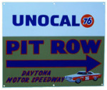 Unocal 76 Pit Row Daytona Sign