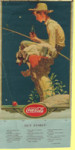 Coca-Cola Fishing Poster