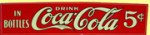 Coca-Cola Strip Sign