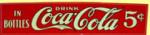 Coca-Cola Strip Sign