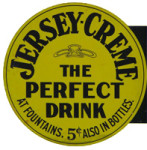 Jersey-Creme Drink Sign