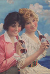 Coca-Cola Duster Girls Poster