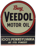 Veedol Motor Oil Sign
