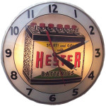 Hester Battery Clock