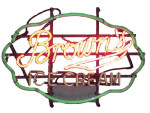 Neon Sign for Brown's Ice Cream
