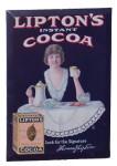 Lipton's Instant Cocoa Sign