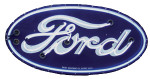 Neon Ford Oval Sign