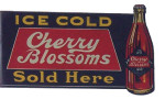 Cherry Blossom Soda Sign