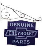 Genuine Chevrolet Parts Hanging Sign