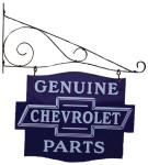 Genuine Chevrolet Parts Hanging Sign