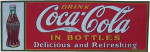 Coca-Cola Classic Drink Sign