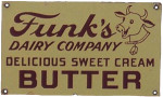 Funk's Dairy Butter Sign